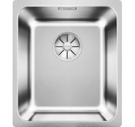 Мойка Blanco Solis 340-IF Cталь полированная, , 21800 ₽, 526116, Solis 340-IF, Мойки для кухни