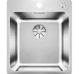 Мойка Blanco Solis 400-IF/A Cталь полированная, , 28200 ₽, 526119, Solis 400-IF/A, Мойки для кухни