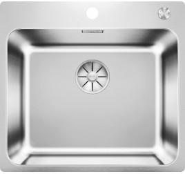 Мойка Blanco Solis 500-IF/A Cталь полированная, , 31300 ₽, 526124, Solis 500-IF/A, Мойки для кухни