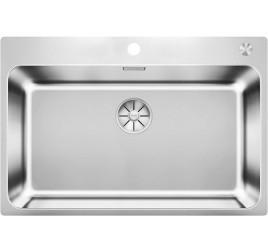 Мойка Blanco Solis 700-IF/A Cталь полированная, , 36800 ₽, 526127, Solis 700-IF/A, Мойки для кухни