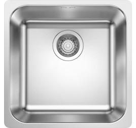 Мойка Blanco Supra 400-IF Cталь полированная, , 12400 ₽, 523356, Supra 400-IF, Мойки для кухни
