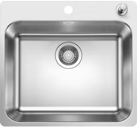 Мойка Blanco Supra 500-IF/A Cталь полированная, , 20320 ₽, 523362, Supra 500-IF/A, Мойки для кухни