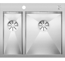 Мойка Blanco Zerox 340/180-IF/A Сталь с зеркальной полировкой, , 69915 ₽, 521642, Zerox 340/180-IF/A чаша справа, Мойки для кухни