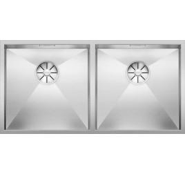 Мойка Blanco Zerox 400/400-IF Сталь с зеркальной полировкой, , 86880 ₽, 521619, Zerox 400/400-IF, Мойки для кухни