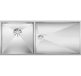 Мойка Blanco Zerox 400/550-T-IF Сталь с зеркальной полировкой, , 79000 ₽, 521603, Zerox 400/550-T-IF чаша слева, Мойки для кухни