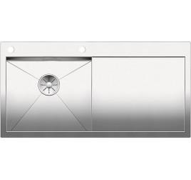 Мойка Blanco Zerox 5 S-IF Сталь с зеркальной полировкой, , 57013 ₽, 521628, Zerox 5 S-IF чаша слева, Мойки для кухни