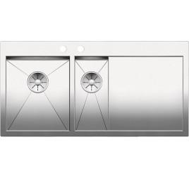 Мойка Blanco Zerox 6 S-IF Сталь с зеркальной полировкой, , 72633 ₽, 521644, Zerox 6 S-IF чаша слева, Мойки для кухни