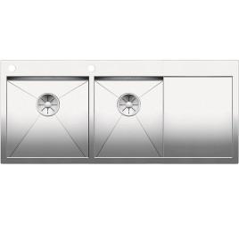 Мойка Blanco Zerox 8 S-IF Сталь с зеркальной полировкой, , 86301 ₽, 521650, Zerox 8 S-IF чаша слева, Мойки для кухни