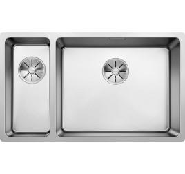 Мойка Blanco Andano 500/180-U Cталь полированная, , 35080 ₽, 522989, Andano 500/180-U чаша справа, Мойки для кухни