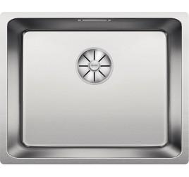 Мойка Blanco Andano 500-U Cталь полированная, , 21120 ₽, 522967, Andano 500-U, Мойки для кухни