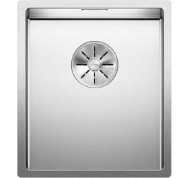 Мойка Blanco Claron 340-U Сталь с зеркальной полировкой, , 33661 ₽, 521571, Claron 340-U, Мойки для кухни
