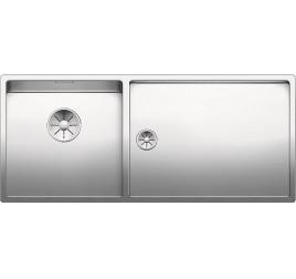 Мойка Blanco Claron 400/550-T-U Сталь с зеркальной полировкой, , 88470 ₽, 521601, Claron 400/550-T-U чаша слева, Мойки для кухни