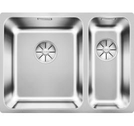 Мойка Blanco Solis 340/180-U Cталь полированная, , 30420 ₽, 526129, Solis 340/180-U, Мойки для кухни