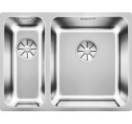 Мойка Blanco Solis 340/180-U Cталь полированная, , 30420 ₽, 526128, Solis 340/180-U, Мойки для кухни
