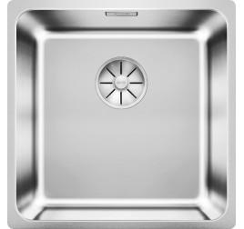 Мойка Blanco Solis 400-U Cталь полированная, , 16020 ₽, 526117, Solis 400-U, Мойки для кухни