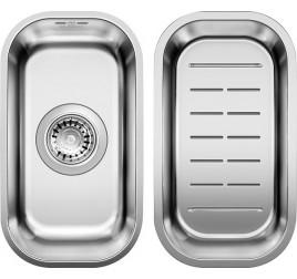 Мойка Blanco Supra 180-U Cталь полированная, , 15750 ₽, 518198, Supra 180-U с коландром, Мойки для кухни