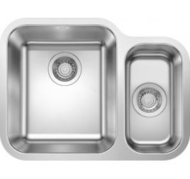 Мойка Blanco Supra 340/180-U Cталь полированная, , 24400 ₽, 525216, Supra 340/180-U чаша слева, Мойки для кухни