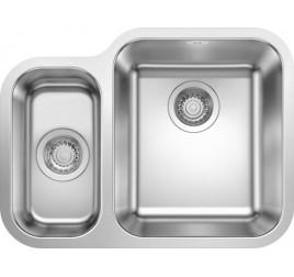 Мойка Blanco Supra 340/180-U Cталь полированная, , 24400 ₽, 525214, Supra 340/180-U чаша справа, Мойки для кухни