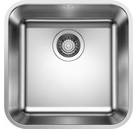 Мойка Blanco Supra 400-U Cталь полированная, , 11012 ₽, 518201, Supra 400-U, Мойки для кухни