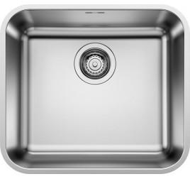 Мойка Blanco Supra 450-U Cталь полированная, , 11481 ₽, 518203, Supra 450-U, Мойки для кухни