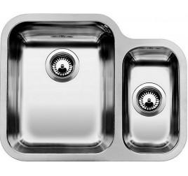 Мойка Blanco Ypsilon 550-U Сталь полированная, , 30160 ₽, 518210, Ypsilon 550-U чаша слева, Мойки для кухни