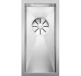 Мойка Blanco Zerox 180-U Сталь с зеркальной полировкой, , 42930 ₽, 521567, Zerox 180-U, Мойки для кухни