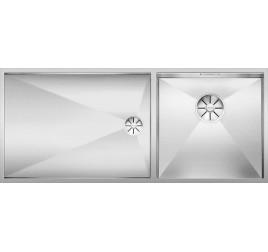 Мойка Blanco Zerox 400/550-T-U Сталь с зеркальной полировкой, , 63832 ₽, 521606, Zerox 400/550-T-U чаша справа, Мойки для кухни