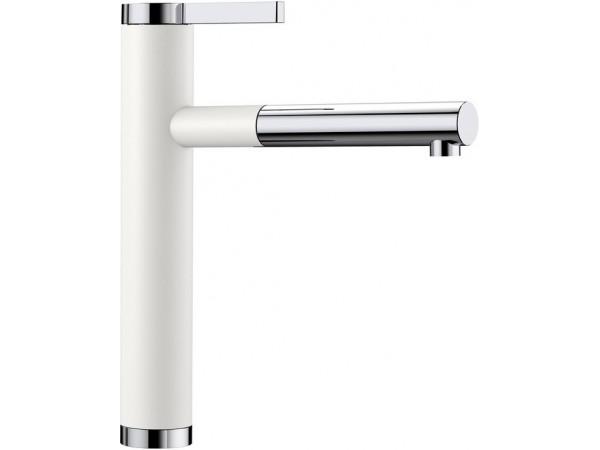 Смеситель Blanco Linee-S Белый 518441 SilGranit