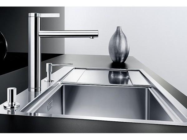 Смеситель Blanco Linee Нержавеющая сталь с зеркальной полировкой