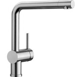 Смеситель Blanco Linus Нержавеющая сталь, , 24211 ₽, 517183, Linus Нержавеющая сталь, Смесители без лейки