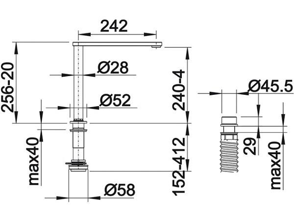 Смеситель Blanco Eloscope-F II Хром