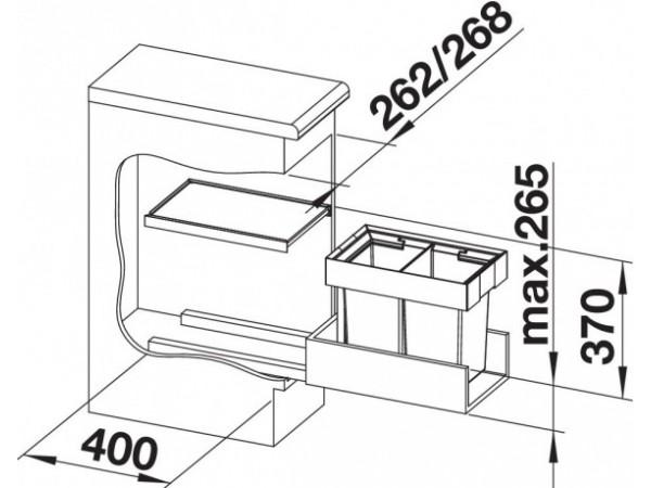 Сортировка Blanco Flexon II 30/2