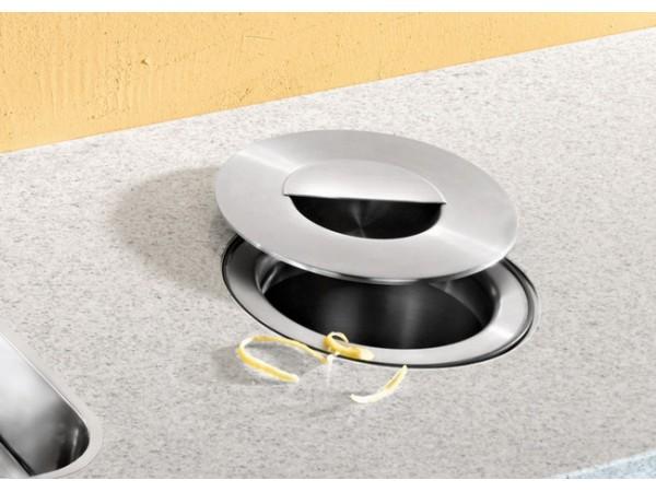 Ведро Blanco Solon Установка в один уровень (ламинированная столешница)